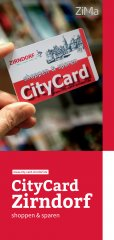 City Card Broschüre - Titel